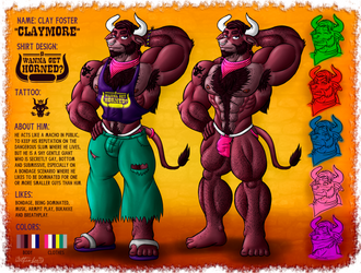 Clay Foster -Reference Pic- by Wolfan-foxD