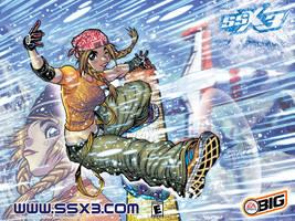 SSX3's ALLEGRA by AdamWarren