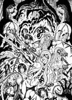 EMPOWERED vol. 6 cover inks by AdamWarren
