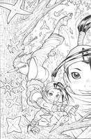 IBUKI issue3 alt-cover pencils by AdamWarren