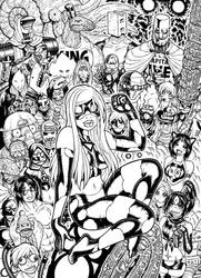 EMPOWERED DELUXE cover inks by AdamWarren