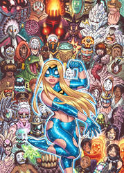EMPOWERED DELUXE EDITION vol.3 cover artwork by AdamWarren