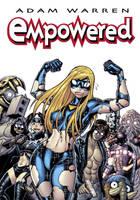 Cover art for EMPOWERED, vol.1 by AdamWarren