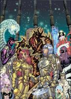 EXALTED Games of Divinity illo by AdamWarren