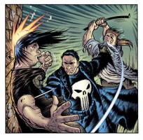 Marvel's PUNISHER, final by AdamWarren