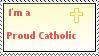 Catholic Stamp by iLoveMyMom