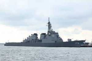 Kongo class Aegis Destroyer DDG-175 Myoko by DDmurasame