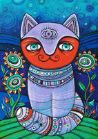 Cat by MaryanaKopylova