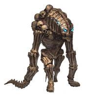 Bone golem by U-RA-CIL