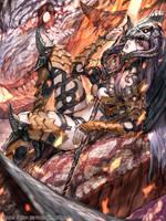 Dragon knight by U-RA-CIL