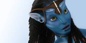 Avatar - Neytiri by half-left