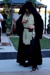 A Jedi at a wedding. by Calon-QwaSage