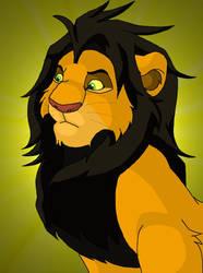 King Ahadi by sirius-blackx2