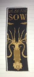 House Greyjoy bookmark by Awenmir
