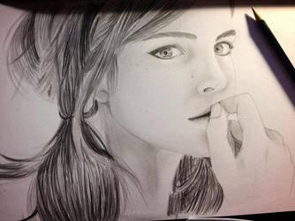 Emma Watson by Kischie