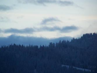 A Snowy Hill during Winter by EbbtideCheque