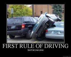 First Rule of Driving by bloodyanimefreak