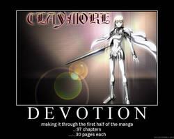 Claymore Motivational by bloodyanimefreak