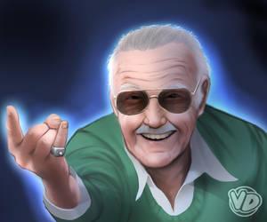 Stan Lee by vedtom