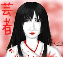 Geisha by Chuushiri