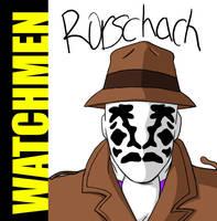 Watchmen-'Rorschach' by Chuushiri