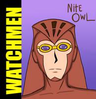 Watchmen-'Nite Owl' by Chuushiri