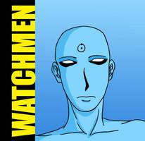 'Watchmen'-Dr. Manhattan by Chuushiri