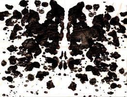 Rorschach Ink Blot I by Chuushiri