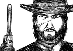 RED DEAD - John Marston by Chuushiri
