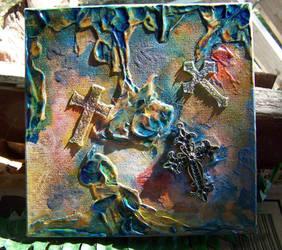 Three Crosses by mirroreyes1