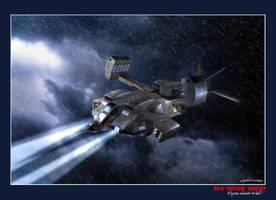 Aliens Dropship by MaxHitman