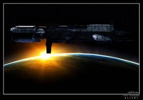 Aliens - USS SULACO by MaxHitman