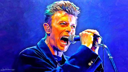 David Bowie by MaxHitman