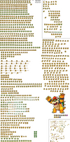 SMB-HotS Bowser Sprite Sheet by AsylusGoji91