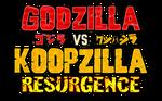 Godzilla vs Koopzilla - Resurgence Logo by AsylusGoji91