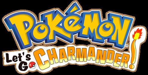 Pokemon - Let's Go, Charmander Logo by AsylusGoji91