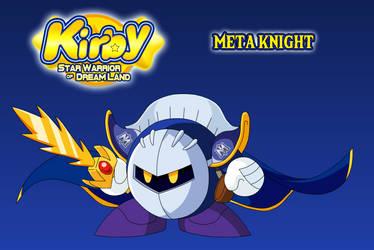 Meta Knight (Star Warrior of Dreamland) by AsylusGoji91
