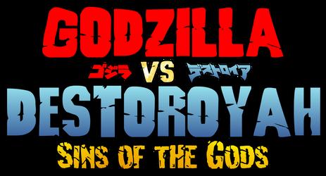 Godzilla vs. Destoroyah Sins of the Gods - Logo 01 by AsylusGoji91
