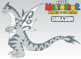 SMB Heroes of the Stars - Shiragon by AsylusGoji91