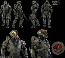 Halo 4 Custom Multiplayer Spartan by Dutch02