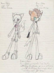 Adopted- Vicky and Felix by ShadowMew-Adoptables