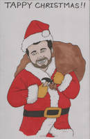 Patrick Christmas Card 2009 by angelacapel