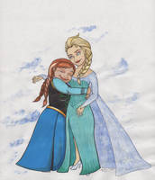 FrozenSisters by angelacapel