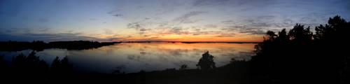 Midsummer panorama by winzrella