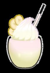 [MMD] Banana Milkshake +DL by Yukirinka