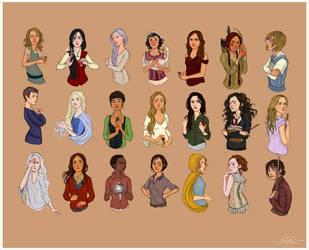 Heroines Again by joshcmartin