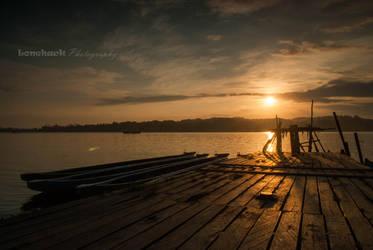 Small River Dock by dmspram