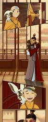 Zutara caught in the act by Kuro-Akumako