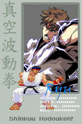 Pixel ID: Ryu by dazedgumball