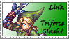 Triforce Slash by dazedgumball